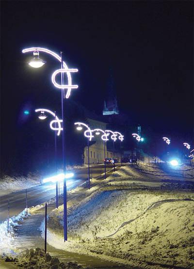 Straßenbeleuchtung - Licht - Planung Wels-Land