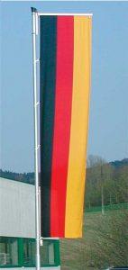 Aluminium-Fahnenmast von Licht-Planung in Krenglbach bei Wels