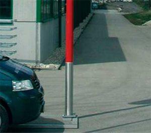 Aluminium-Mast von Licht-Planung